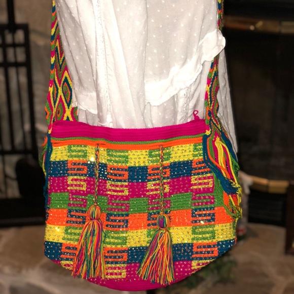 9efec1dc73c Wayuu Tribe Bags | 100 Authentic Wayuu Mochila Bag Nwot | Poshmark